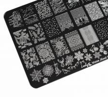 Пластина Lesly 9,5x14,5cm Winter Mood 1