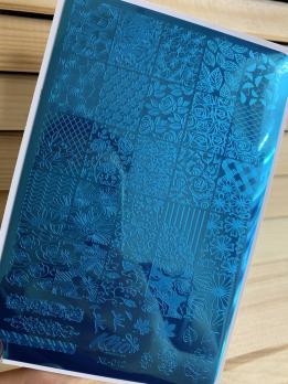 Пластина для стемпинга Klio XL-012