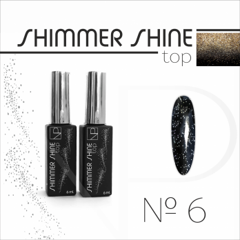 Топ с шиммером Nartist Top Shimmer Shine №6, 6мл