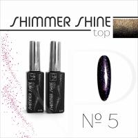 Топ с шиммером Nartist Top Shimmer Shine №5, 6мл