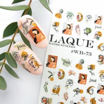 Cлайдер дизайн #WB-73 Laque Stikers