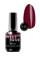 137 Gel Polish #137 «Bloody» MYSTIQUE™, 15 ml
