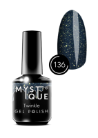 136 Gel Polish #136 «Twinkle» MYSTIQUE™, 15 ml