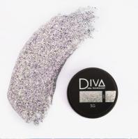Глиттер-гель 09 Diva, 5мл