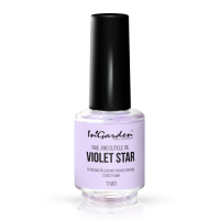 Сухое масло для ногтей и кутикулы с блёстками Nail and cuticle oil Violet star 11мл