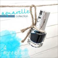 Акварельные капли  Nartist Watercolor drops №4 light blue (голубые), 5мл