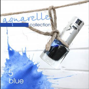 Акварельные капли Nartist Watercolor drops №5 blue (синие), 5мл