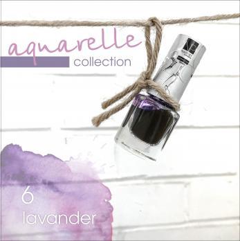 Акварельные капли Nartist Watercolor drops №6 lavander (лавандовые), 5мл
