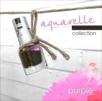 Акварельные капли Nartist Watercolor drops №7 purple (фиолетовые), 5мл