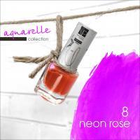 Акварельные капли Nartist Watercolor drops №8 neon rose (неоновые розовые), 5мл