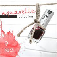 Акварельные капли Nartist Watercolor drops №9 red (красные), 5мл