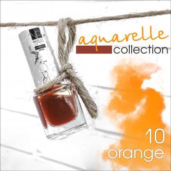 Акварельные капли Nartist Watercolor drops №10 orange (оранжевые), 5мл