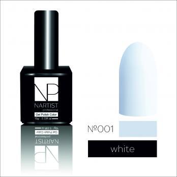 Nartist 001 White 10g