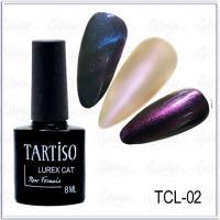 Гель-лак Tartiso Lurex Cat TLC-02, 8мл