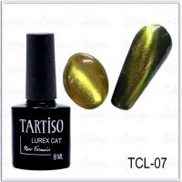 Гель-лак Tartiso Lurex Cat TLC-07, 8мл
