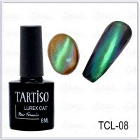 Гель-лак Tartiso Lurex Cat TLC-08, 8мл