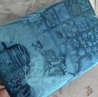 Пластина Lesly 9,5x14,5cm Marine