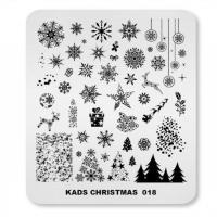 Пластина KADS Christmas 018