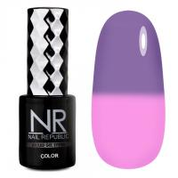 Гель-лак Термо Thermo color 601 Nail Republic, 10мл