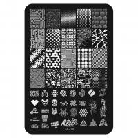 Пластина для стемпинга Klio XL-050