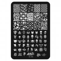 Пластина для стемпинга Klio XL-049