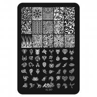 Пластина для стемпинга Klio XL-047
