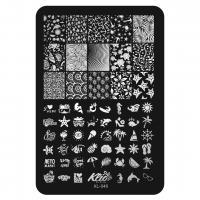 Пластина для стемпинга Klio XL-046