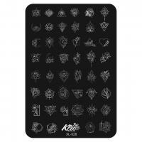 Пластина для стемпинга Klio XL-028