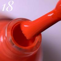 Лак для стемпинга Нейлстори NailStory, оранжевый №18