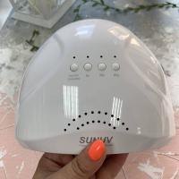 """Лампа UV/LED 48 Ватт гибрид """"SUN one"""", розовая"""