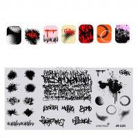 Пластина для стемпинга Calligraphy JR 125