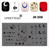Пластина для стемпинга JR-308