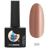 Гель-лак RockNail Gray Moon 260 Mystery, 10ml