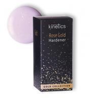 Укрепитель для ногтей Rose Gold (полупрозрачное нежно-розового оттенка покрытие с золотистым мерцанием) KINETICS, 15мл
