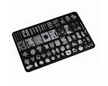 Пластина Lesly 9,5x14,5cm Grunge Style