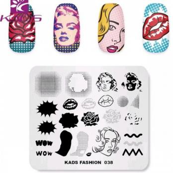 Пластина KADS Fashion 038