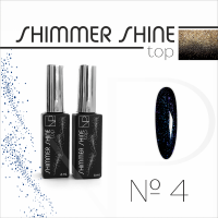 Топ с шиммером Nartist Top Shimmer Shine №4, 6мл