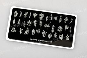 Пластина Swanky Stamping 038