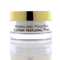 Поли-гель камуфляж натурал Modeling PolyGel Natural Pink RevolutioN, 50ml