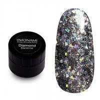 Гель-лак Diamond Starshine (платиновый) Monami, 5 гр