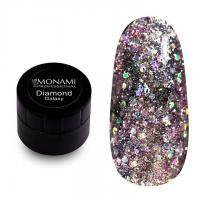 Гель-лак Diamond Galaxy (платиновый) Monami, 5 гр