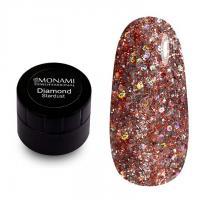 Гель-лак Diamond Stardust (платиновый) Monami, 5 гр
