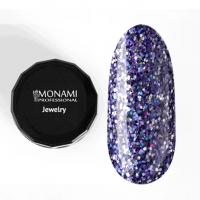 Гель-лак Luxury Blue Monami, 5 гр