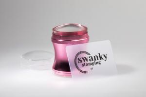 Штамп Swanky Stamping, розовый, силиконовый, 4 см