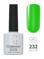 Гель-лак цвет №232 Меганмарклить Cosmolac, 7,5 мл