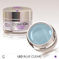 Гель Led Blue Clear CosmoLac, 15 мл