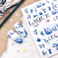 Cлайдер-дизайн #427 Laque Stikers (зима)