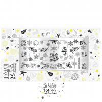 Пластина для стемпинга TAKIDA mini 04 Holiday Collection