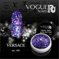 Гель-лак с блестками Versace Vogue, 5мл