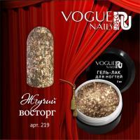 Гель-лак с блестками Жгучий Восторг Vogue, 5мл